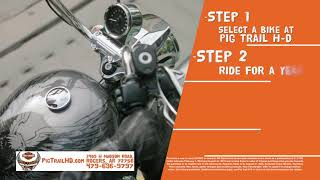 Pigtail Harley Davidson -  Freedom Promise