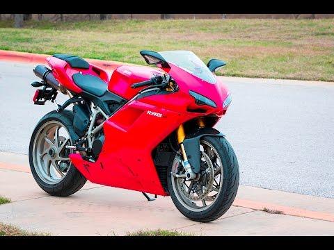 2009 Ducati 1198S Test Ride - YouTube