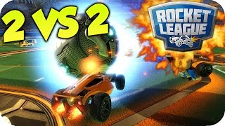 CAGANDO BOLAS!! QUE EPICO!! 2 VS 2 | ROCKET LEAGUE c/ AMIGOS | Flow