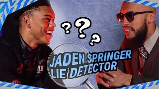 Who's The BEST PLAYER On IMG Academy? Jaden Springer Can't Handle The HEAT On Lie Detector 😱