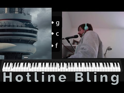 [Songwriting] Hotline Bling by Drake – Real World Music Theory
