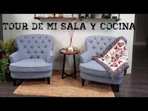 Tour De Mi Sala Y Cocina En Mi Casa Movil.(Mobile Home)