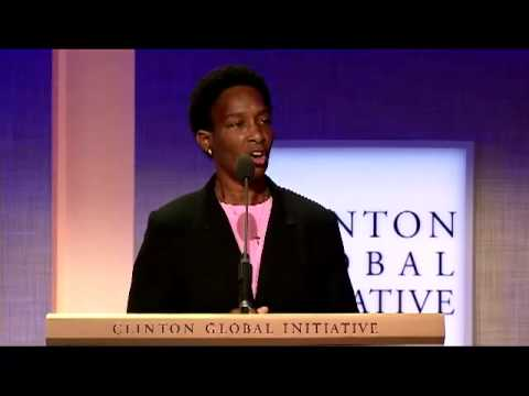 Loretta Claiborne at 2012 Clinton Global Initiative - YouTube