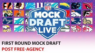 FULL 1st Round Mock Draft: Post Free Agency