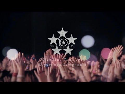 Alice Nine TOUR 2014 Supernova Symphonia STARTED ON April 16 2014.TRAILER