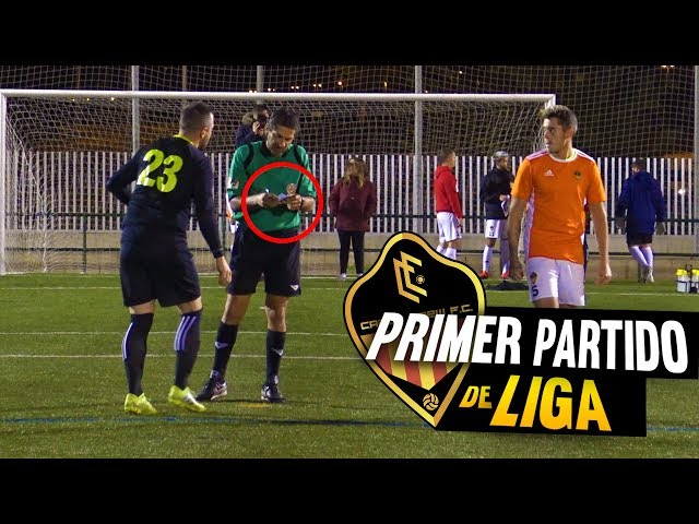 PRIMER PARTIDO de LIGA | CRAZY CREW FC