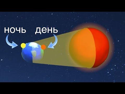 Почему происходит смена дня и ночи? Мультфильм про космос для детей