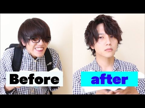 when-a-loser-learns-how-to-set-his-hair.-|-japanese-men's-hair-style