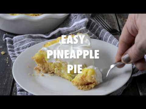 Easy Pineapple Pie