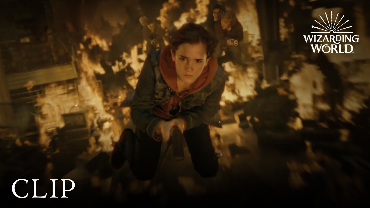 Download Fiendfyre in the Room of Requirement   Harry Potter and the Deathly Hallows Pt. 2