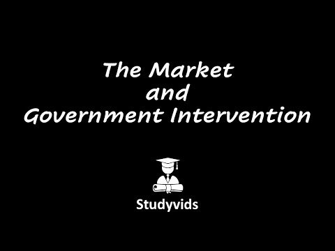 Dip104GD  The Market and Intervention