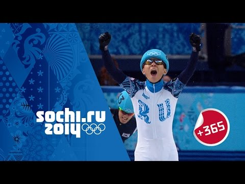 Victor An Wins 1000m Gold  - Full Short Track Speed Skating Final   #Sochi365