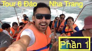 Hãy Cùng Diễn Viên- Lâm Minh Thắng-Thuê CaNô Đi Khám Phá Tour 6 Đảo Ở Nha Trang Phần 1