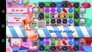 Candy Crush Saga Level 1458 Walkthrough