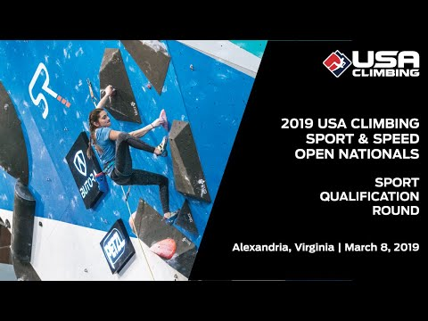 2019 USA Climbing: Sport & Speed Open National Championships | Sport Qualification Round