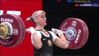 2015 World Weightlifting Women