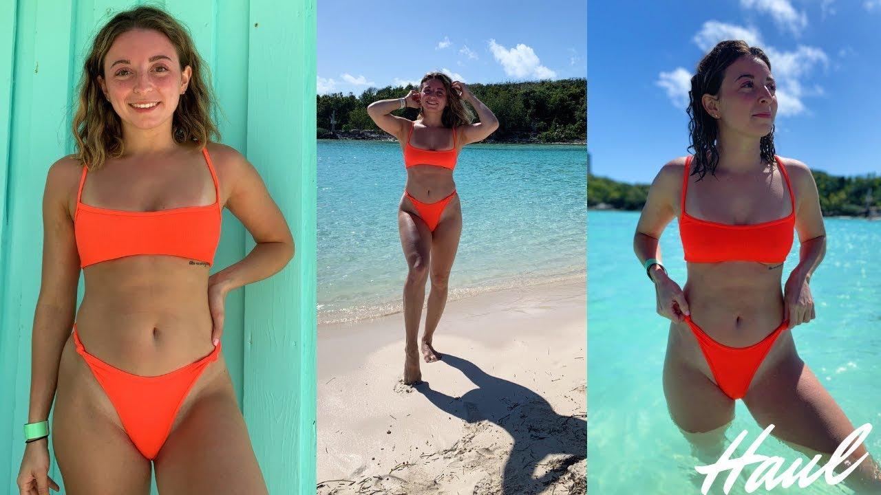 0ed2fbc983a9c Try On High Waisted Bikini Haul 2019 I Oh Polly, Fashion Nova, Target &  More!