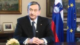 Novoletna poslanica predsednika RS dr. Danila Türka