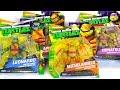 Best Learning Video For Children - Opening Teenage Mutant Ninja Turtles Half-Shell Heroes Toys