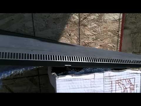 Ridge venting - How we vent an attic