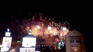 Салют на День Победы 9 мая 2015 70 лет Казань