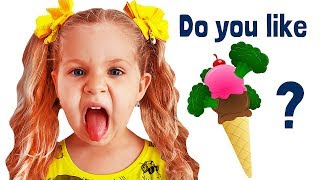 Do You Like Broccoli Ice Cream? Songs with Roma and Diana