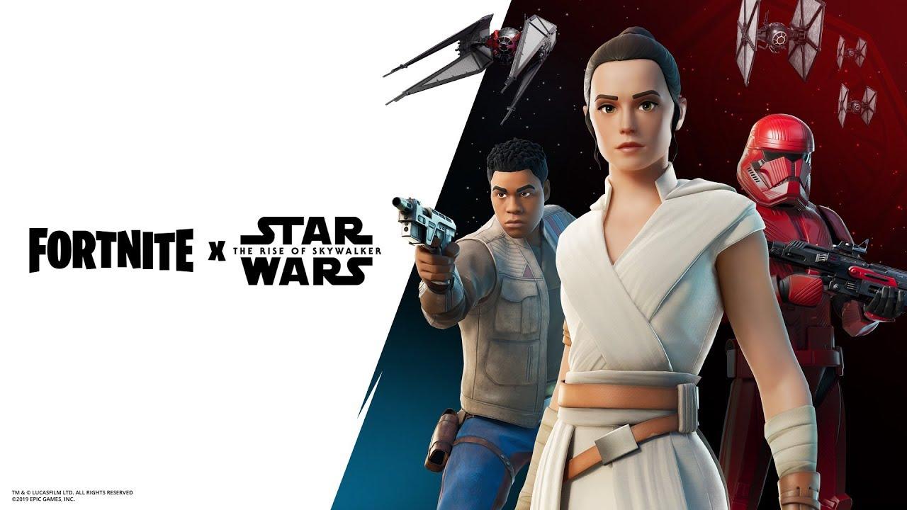 Fortnite X Star Wars Gameplay Trailer
