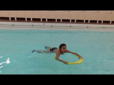 Aqua Fitness Aqua Aerobics exercise with Marietta Mehanni Noodle shallow deep rock and roll