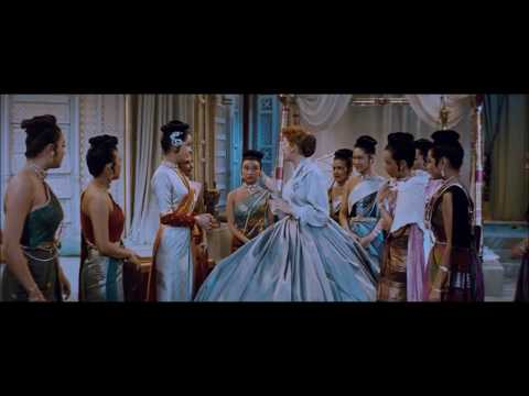 The King And I (1956) - Anna's Arrival Dress