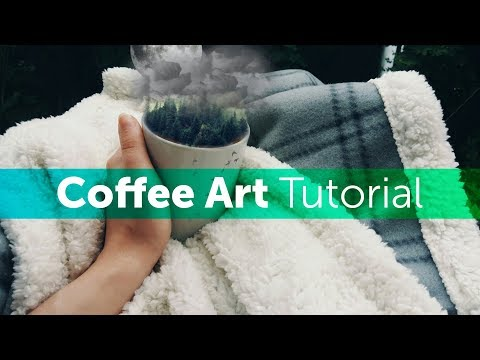 How to Create Coffee Art | PicsArt Photo Editing Tutorial