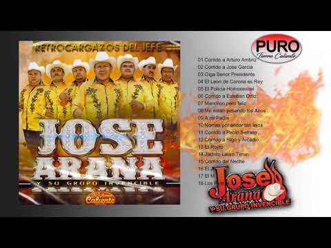 Jose Arana Y Su Grupo Invencible 2017 - Retrocargazos del Jefe (Album)