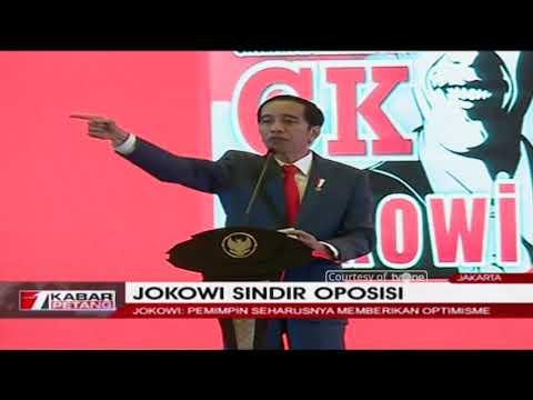 Pidato Jokowi Sindir Soal Indonesia Bubar 2030