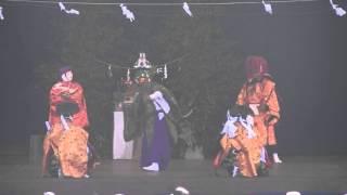 第26回庄内神楽祭り 櫟木神楽座『返し矢』その1