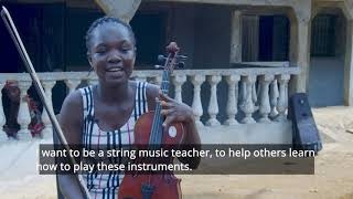 An orchestra in Liberia? Yes! Liberia's got talent, and a lot of it.