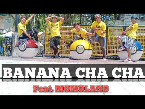 BANANA CHA CHA  Feat MOMOLAND [Remix] Dj Bom Bom | KPOP | Dance Fitness | By TeamBaklosh