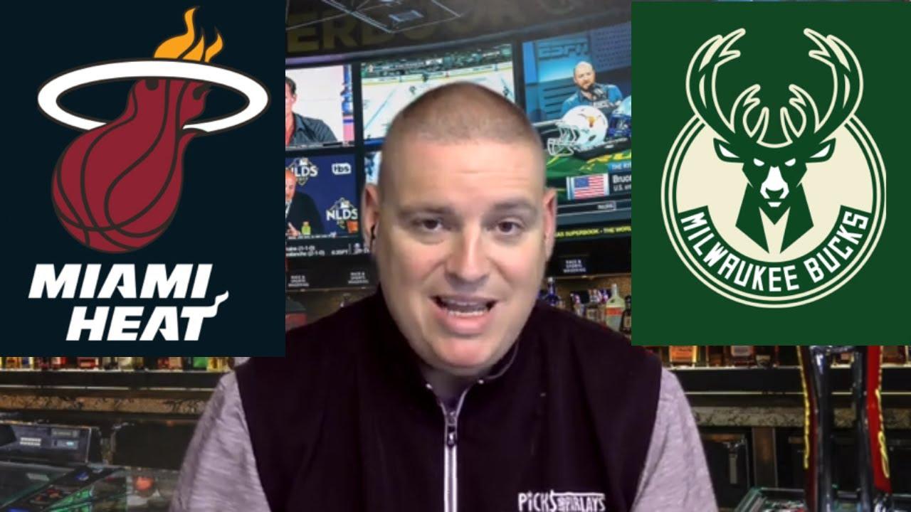 Milwaukee Bucks vs Miami Heat - Game 4 - NBA Picks & ATS ...