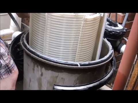 Hayward Pro Grid DE Filter Cleaning