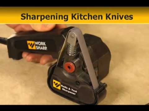 Work Sharp Knife & Tool Sharpener (WSKTS): Instructional Video
