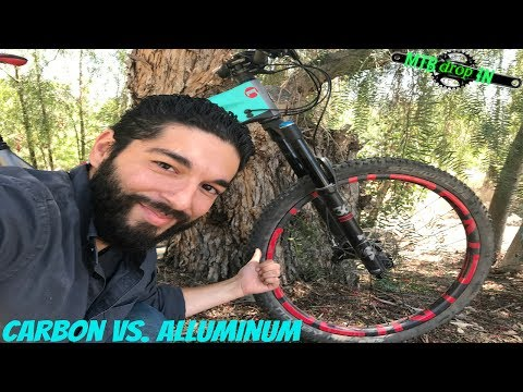 Carbon Fibre Vs Aluminum Mountain Bikes | Are they worth the extra money? | Does it make you go fast
