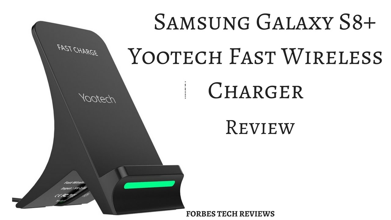 samsung galaxy s8 s8 yootech fast wireless charger review youtube. Black Bedroom Furniture Sets. Home Design Ideas
