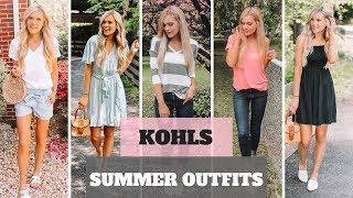 Huge Kohls Try On Haul   Summer Outfits 2019