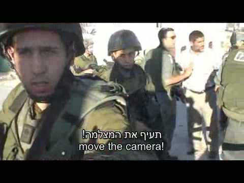 Israeli jewish settlers' violence in Hebron