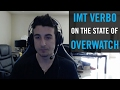 IMT support Verbo discusses the state of NA Overwatch and the desire to play someone who isn't Lucio