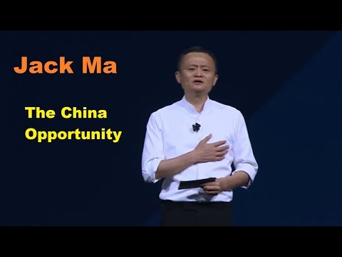 Jack Ma - The China Opportunity - Gateway 17 in Detroit 2017