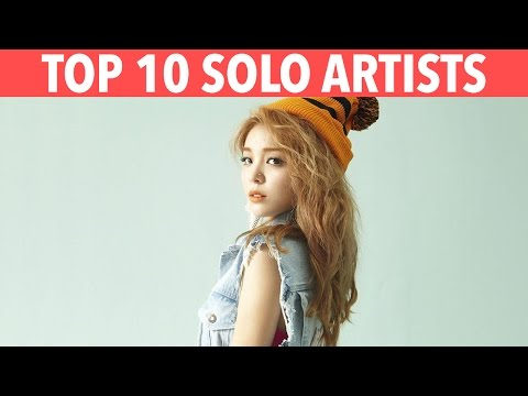TOP 10 K-POP SOLO ARTISTS - K-VILLE'S STAFF PICKS!