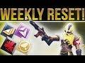 Destiny 2. WEEKLY RESET! (10-3-2017) Nightfall, Milestones, Powerful Gear, Exotic Sparrow & More!