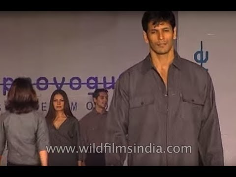 Supermodels Milind Soman and Indrani Dasgupta scorch the ramp for Provogue fashion show