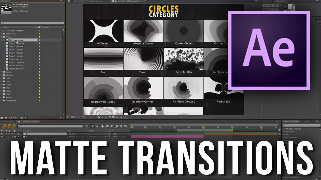 Pixel Transitions Pack | Bogz