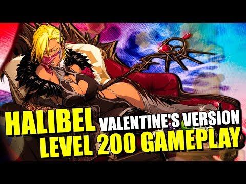 NEW HALIBEL [VALENTINE'S VERSION] LEVEL 200 GAMEPLAY! Bleach Brave Souls