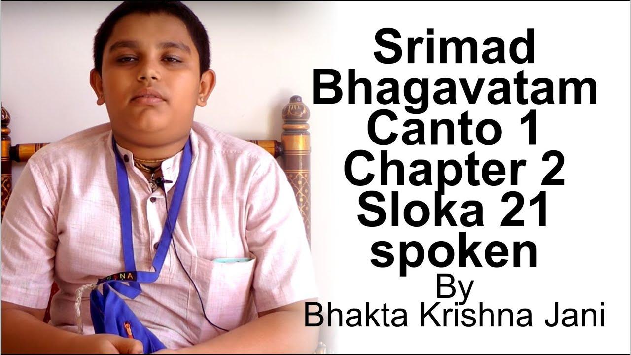 Srimad Bhagavatam Slokas In Sanskrit Pdf